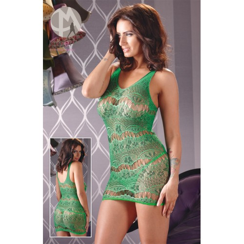 Net Dress - green