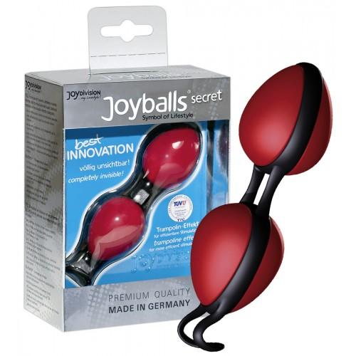 Tajné guličky rozkoše - červené/čierne (Joyballs)