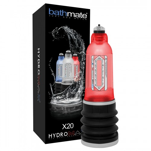 BATHMATE - HYDROMAX PENIS PUMP X20 RED