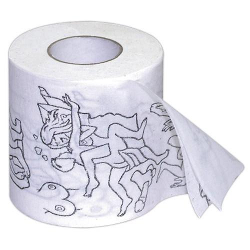 Erotický toaletný papier - Erotické kresby