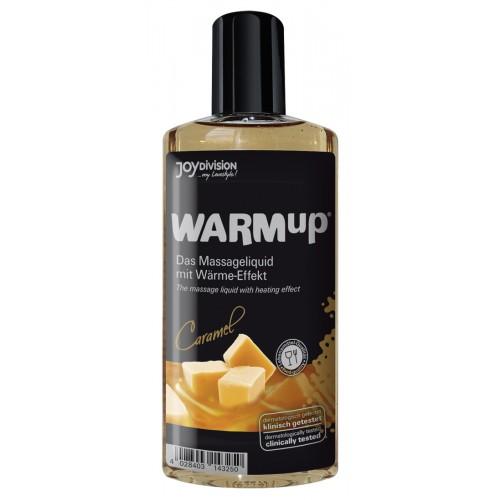 Masážny gél so zohrievacím účinkom - karamelový (150 ml)