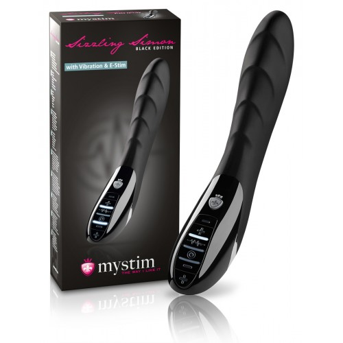 mystim Sizzling Simon - Black Edition