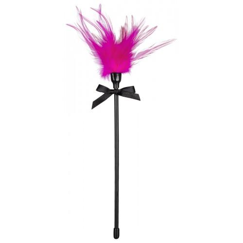 Hladkadlo z pravého peria - pink