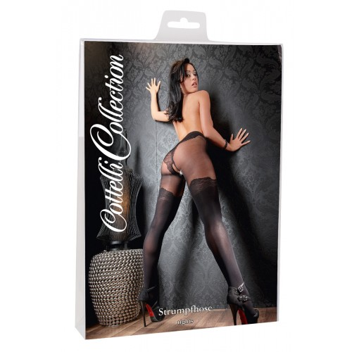 Cottelli - extravagant Tights (black)
