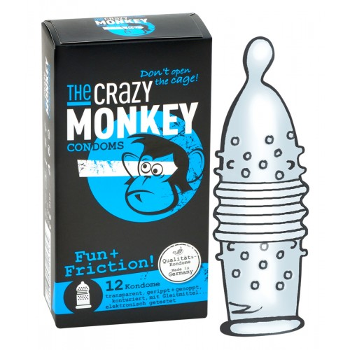 Crazy Monkey Fun + Friction Pack of 12