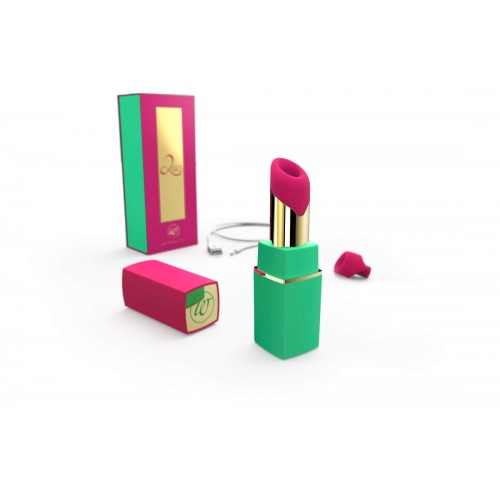 WOMANIZER 2GO GREEN/MAGENTA