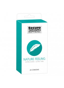 SECURA NATURE FEELING - kondómy (24 ks)