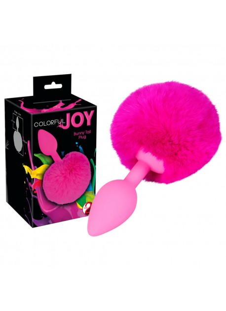 """You2Toys Análne dildo """"Colorful Joy Bunny Tail"""""""