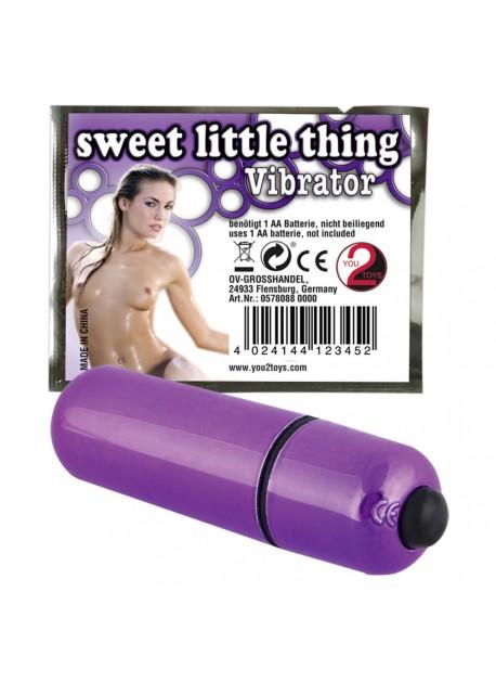 Mini tyčový vibrátor - fialový