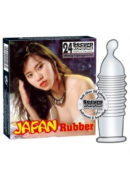 Japonské kondómy (24 ks)