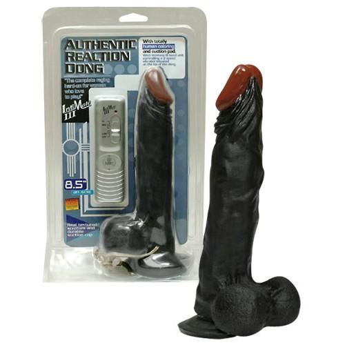 Realistický vibrátor - čierny