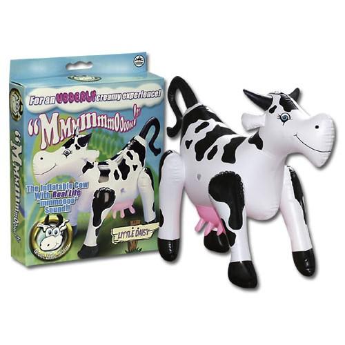 Fľakatá kravička - erotické domáce zviera