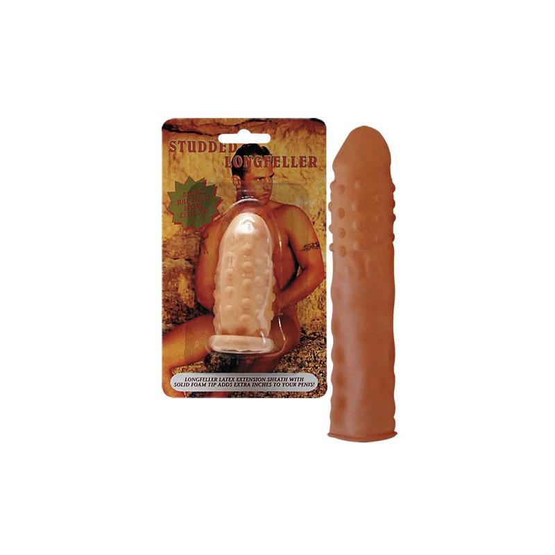 Predlžujúci latexový návlek na penis
