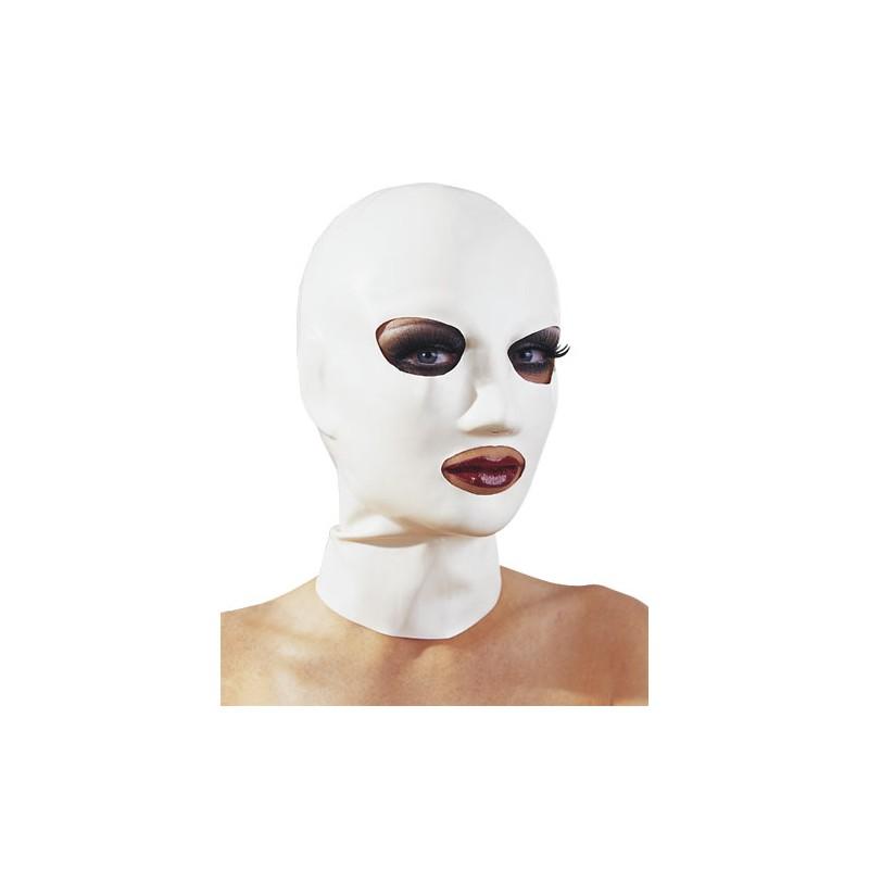 Latexová maska - biela