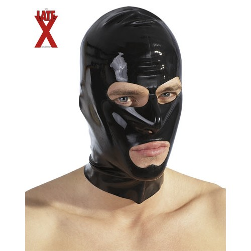 Otvorená latexová maska