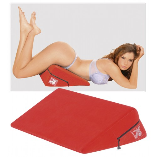 Liberator - vankúš na sex v tvare klinu - červený