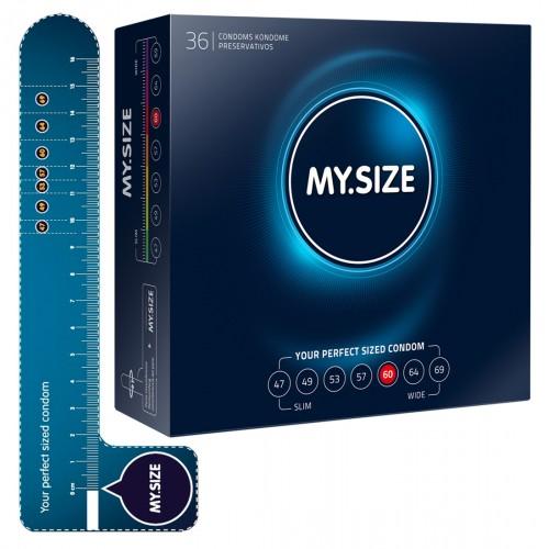 MY SIZE kondómy - 60 mm (36 ks)