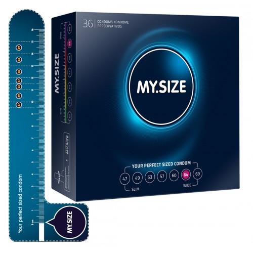 MY SIZE kondómy - 64 mm (36 ks)