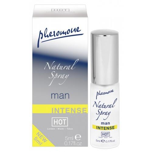 HOT natural - intenzívny parfém s obsahom feromónov (pánsky)