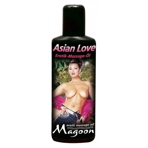 Ázia masážny olej lásky - 100 ml