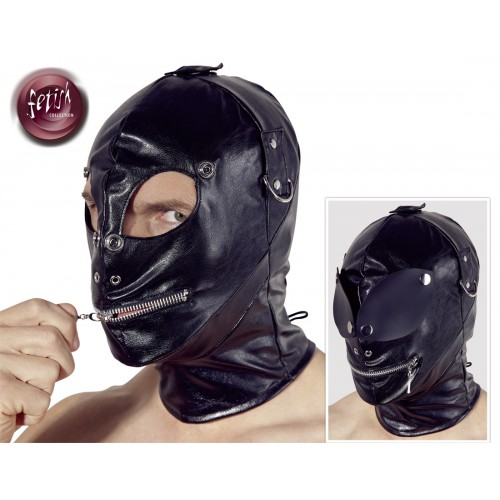 Fake Leather Mask