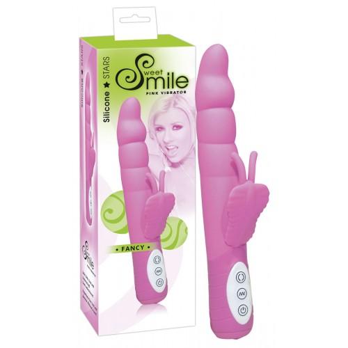 SMILE Fancy - vibrátor rozkoše (ružový)
