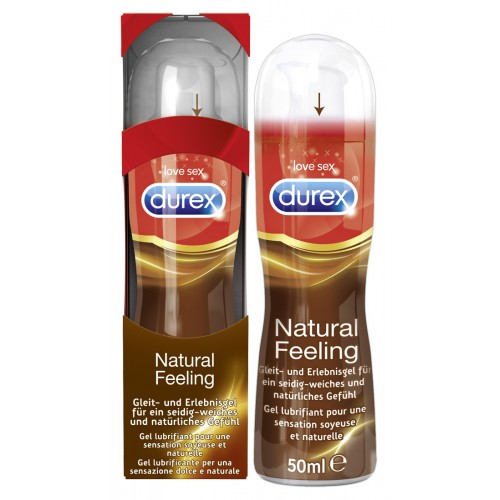 Durex Natural Feeling - silikónový lubrikant (50 ml)