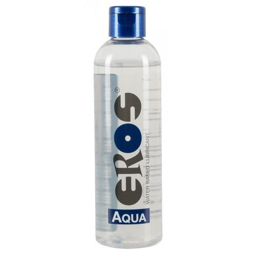 EROS Aqua - lubrikant na báze vody vo flakóne (250 ml)