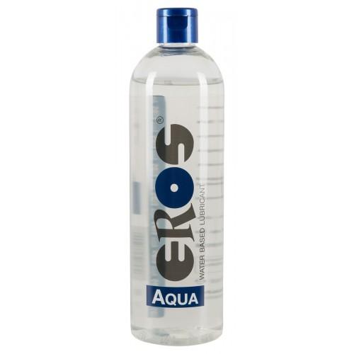 EROS Aqua - lubrikant na báze vody, vo flakóne (500 ml)