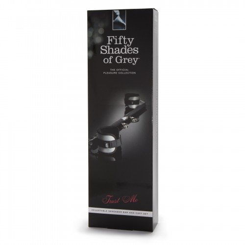 FIFTY SHADES OF GREY - ADJUSTABLE SPREADER BAR AND