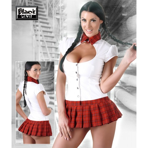 Vinyl School Girl Set
